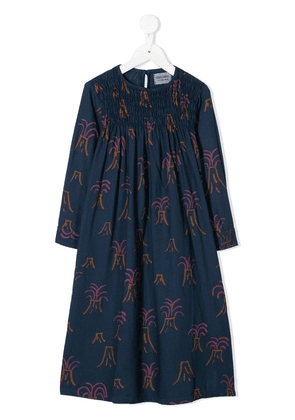 Bobo Choses Volcano print dress - Blue