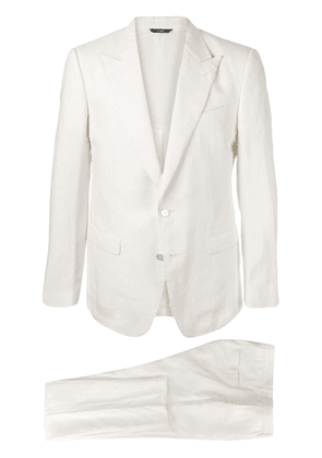 Dolce & Gabbana two-button suit - White