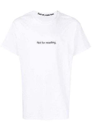 F.A.M.T. Not for Reselling T-shirt - White