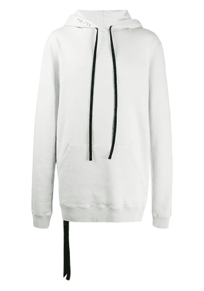 Unravel Project faded logo oversized hoodie - Grey