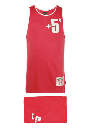 Vivienne Westwood Anglomania oversized tank top - Red