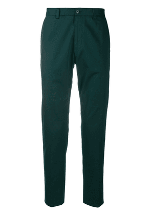 Dolce & Gabbana slim-fit chino trousers - Green