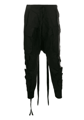 Unravel Project utility trousers - Black