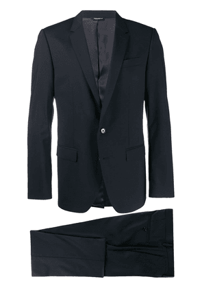 Dolce & Gabbana single breasted two piece suit - Blue