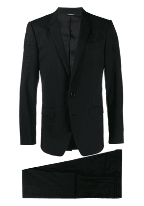 Dolce & Gabbana single-breasted wool suit - Black