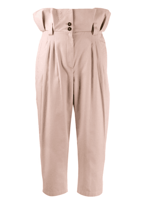 Dolce & Gabbana pleated waist trousers - PINK