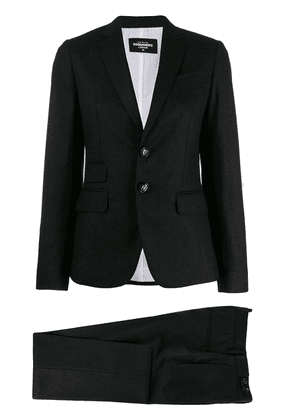 Dsquared2 tailored vented suit - Grey