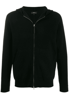 Theory zip-up cashmere hoodie - Black