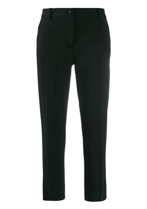 Dolce & Gabbana cropped tailored trousers - Black
