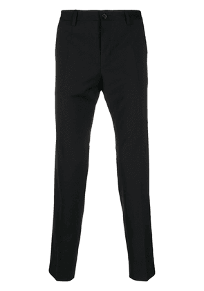 Dolce & Gabbana slim-fit chino trousers - Black