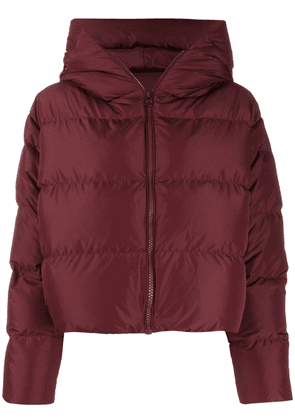 Bacon Cloud hooded puffer jacket - Red