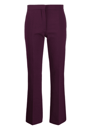 Valentino straight-leg trousers - PURPLE