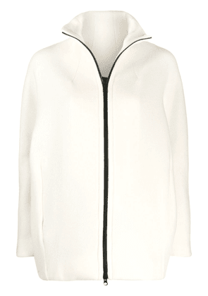 Gianluca Capannolo stand-up collar jacket - White