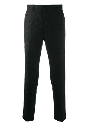 Dolce & Gabbana monogram tailored trousers - Black