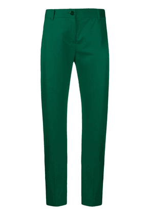 Dolce & Gabbana cropped chino trousers - Green
