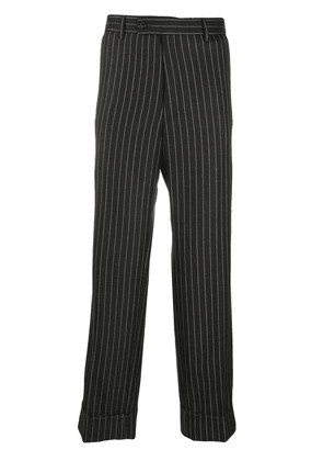 Gucci pinstripe tailored trousers - Grey