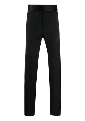Dolce & Gabbana oversized waistband tailored trousers - Black