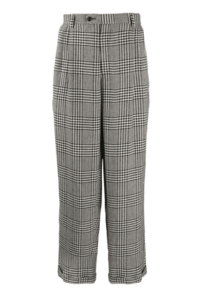 Gucci Prince of Wales cotton trousers - Neutrals