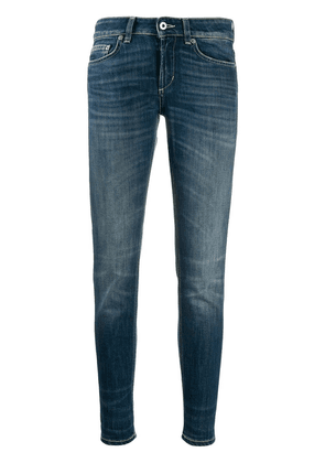 Dondup cropped skinny jeans - Blue