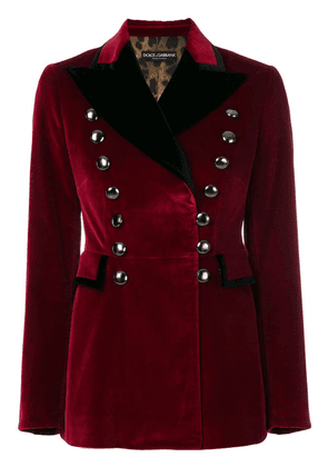 Dolce & Gabbana military blazer - Red