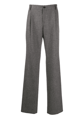 Dolce & Gabbana woven straight trousers - Grey