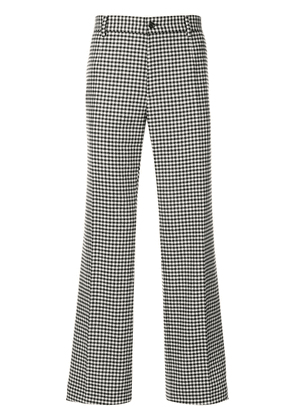 Dolce & Gabbana Houndstooth tailored trousers - White