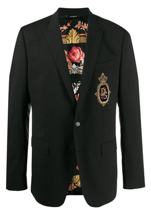 Dolce & Gabbana Martini patch jacket - Black