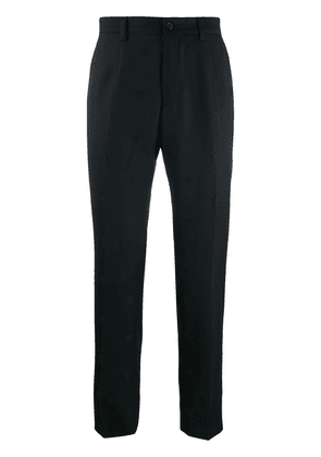Dolce & Gabbana logo print tailored trousers - Black