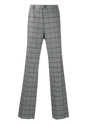 Dolce & Gabbana checked loose-fit trousers - Black