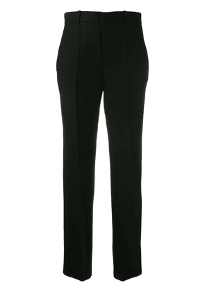Gucci cropped straight leg trousers - Black