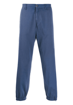 Gucci gathered ankle trousers - Blue