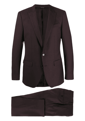 Dolce & Gabbana classic two-piece suit - Red