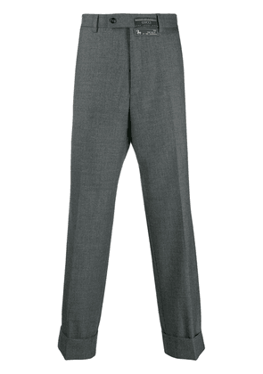 Gucci wide-leg tailored trousers - Grey