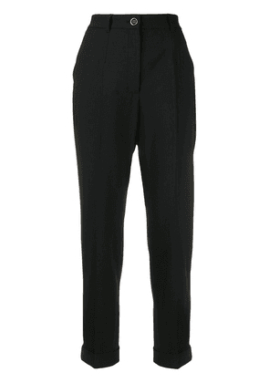Dolce & Gabbana cropped trousers - Black