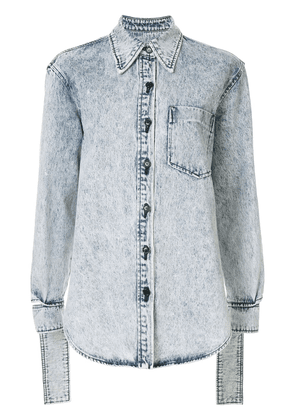 System long sleeved denim shirt - Blue
