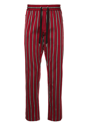 Dolce & Gabbana striped trousers - Red