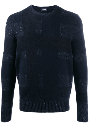 Drumohr long-sleeve fitted sweater - Blue