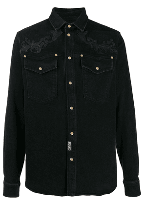 Versace Jeans Couture denim shirt - Black