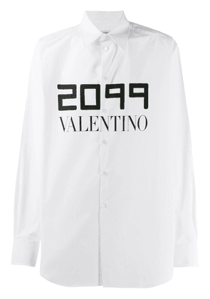 Valentino 2099 print relaxed shirt - White