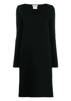 Bottega Veneta square neckline dress - Black