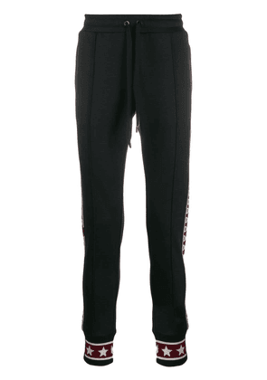 Dolce & Gabbana logo band track pants - Blue