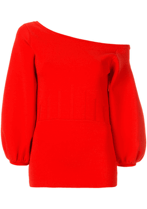 Ginger & Smart Valour crepe knit top - Red