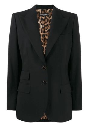 Dolce & Gabbana single breasted jacket - Black