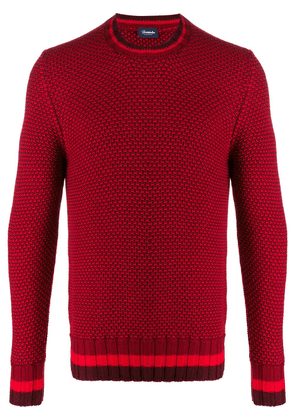 Drumohr long-sleeve knitted sweater - Red
