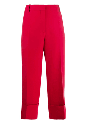 Valentino straight-leg trousers - Red