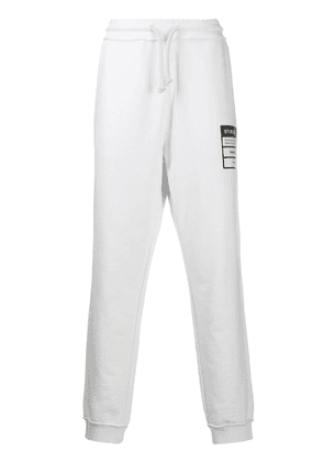 Maison Margiela tapered sweatpants - White