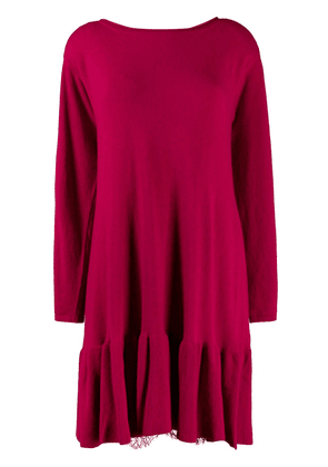 Twin-Set knit shift dress - Pink