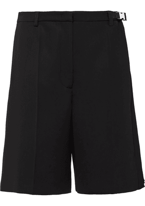 Prada wide-leg shorts - Black