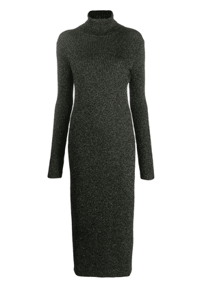 Twin-Set roll neck sweater dress - Black