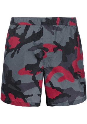 Valentino camouflage swim shorts - Grey